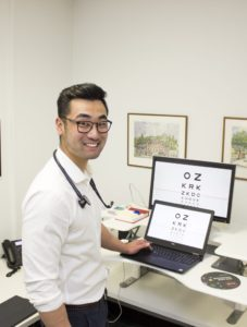 Dr William Yan, Project Lead of VisionAtHome. Photo: Centre for Eye Research Australia